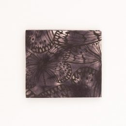 Butterflies Fat Quarter - Black