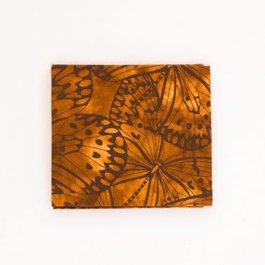 Butterflies Fat Quarter - Brown