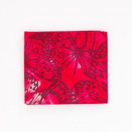 Butterflies Fat Quarter - Red