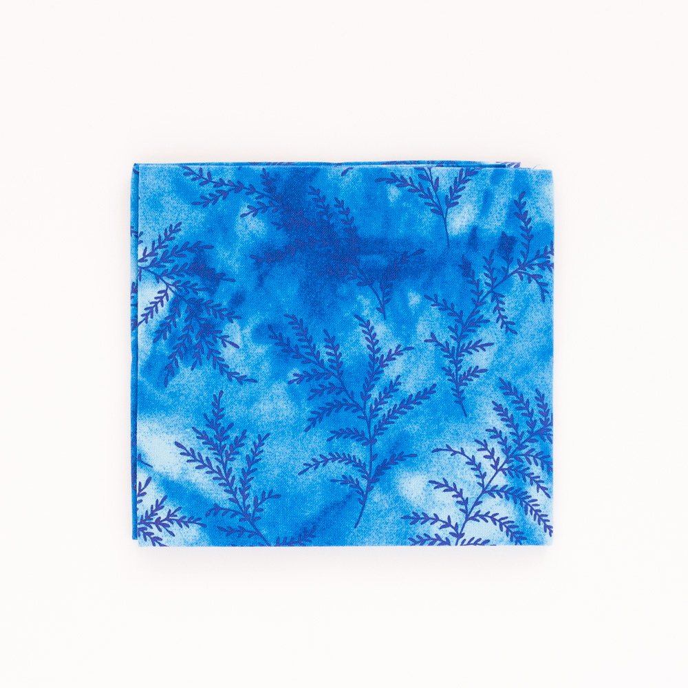 Fern Fat Quarter - Blue