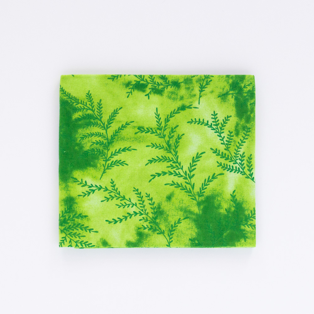 Fern Fat Quarter - Green