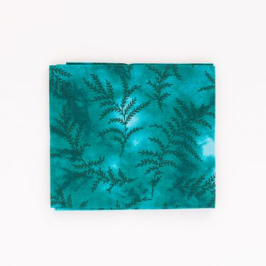 Fern Fat Quarter - Teal