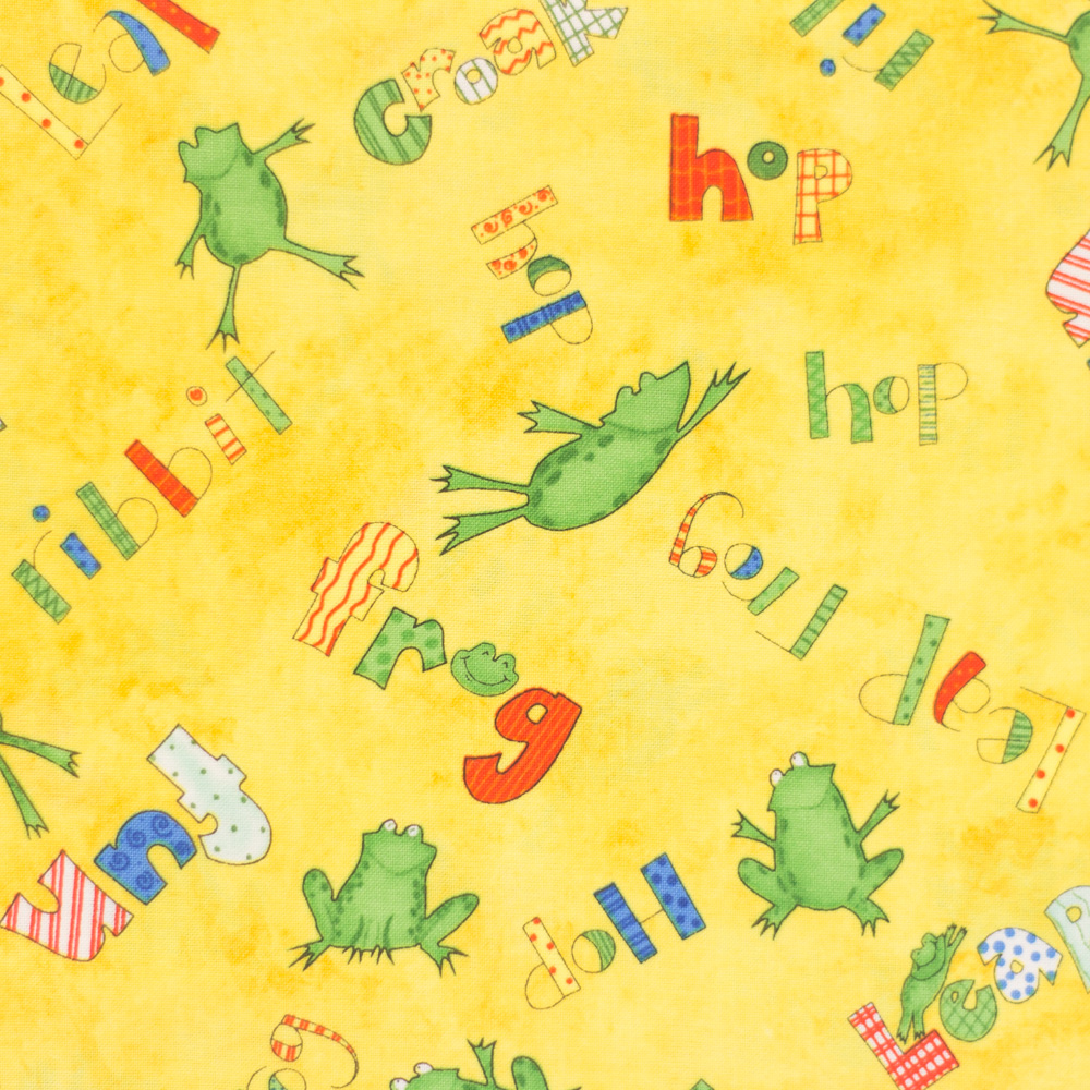 Froggy Fun Fat Quarter