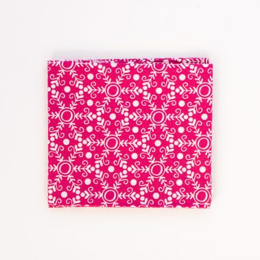 Snowflakes-Pink-Fat-Quarter