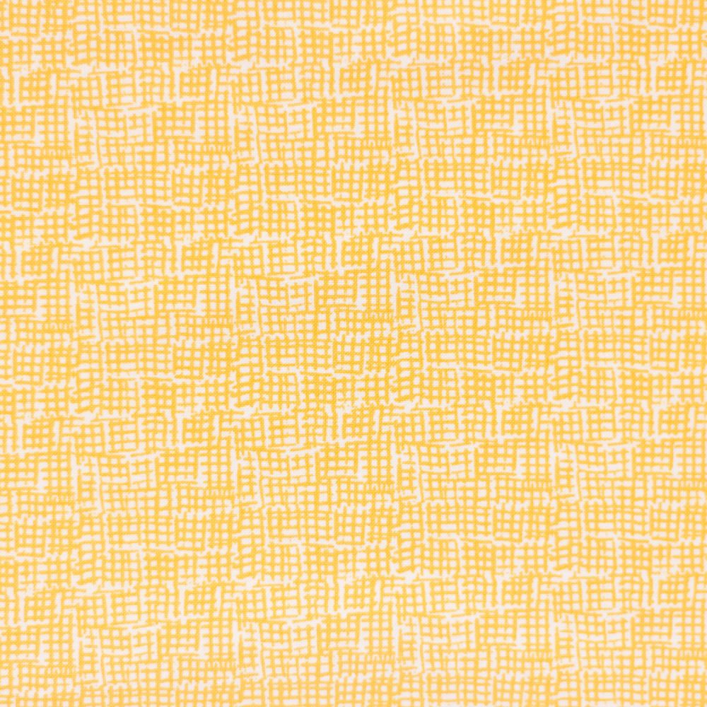 Waffle-Pattern-Mustard-Fabric