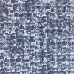 Waffle-Pattern-Navy-Fabric