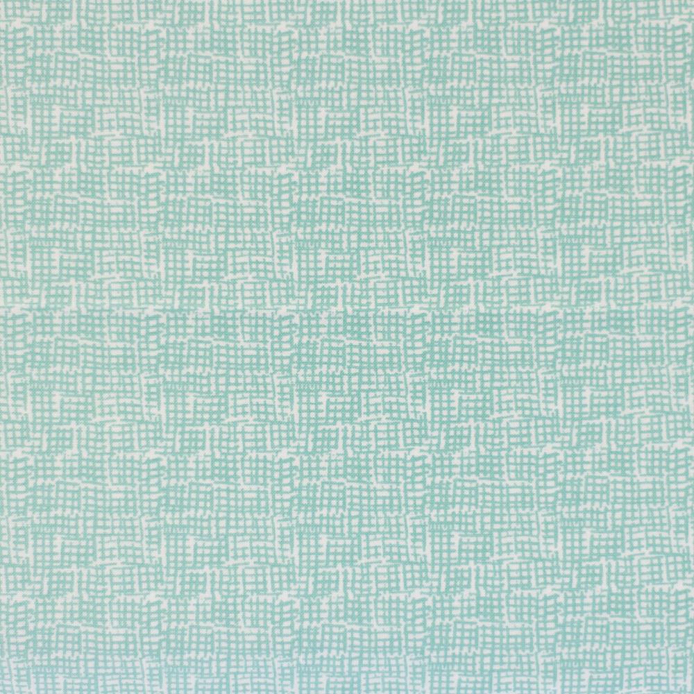 Waffle-Pattern-Turquoise-Fabric