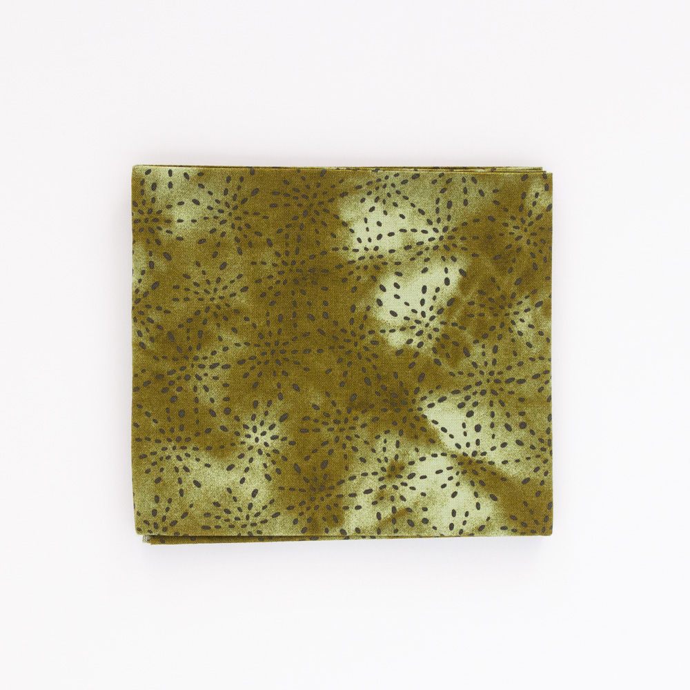 Whisp Forest Fat Quarter - Olive Green