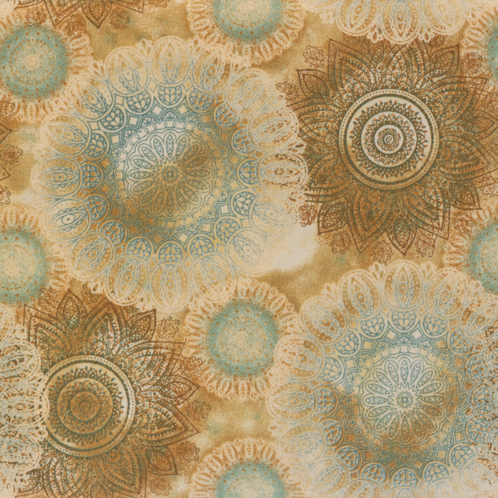 Arabesque-Fabric-Brown