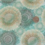Arabesque-Fabric-Teal-With-Coin