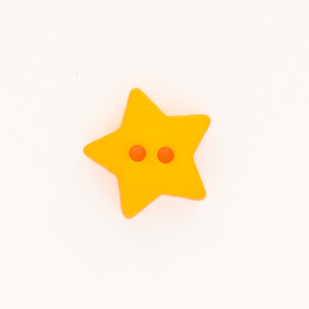 Orange-Star-Button