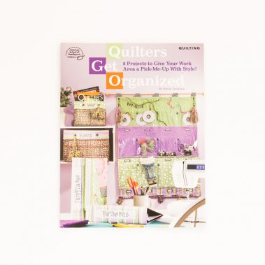 Quilters Get Organised-Front