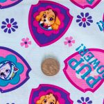Paw Patrol - Girls - Light Blue with Coin