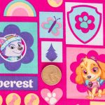 Paw Patrol - Girls - Pink with Coin