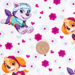 Paw Patrol - Girls - White with Coin