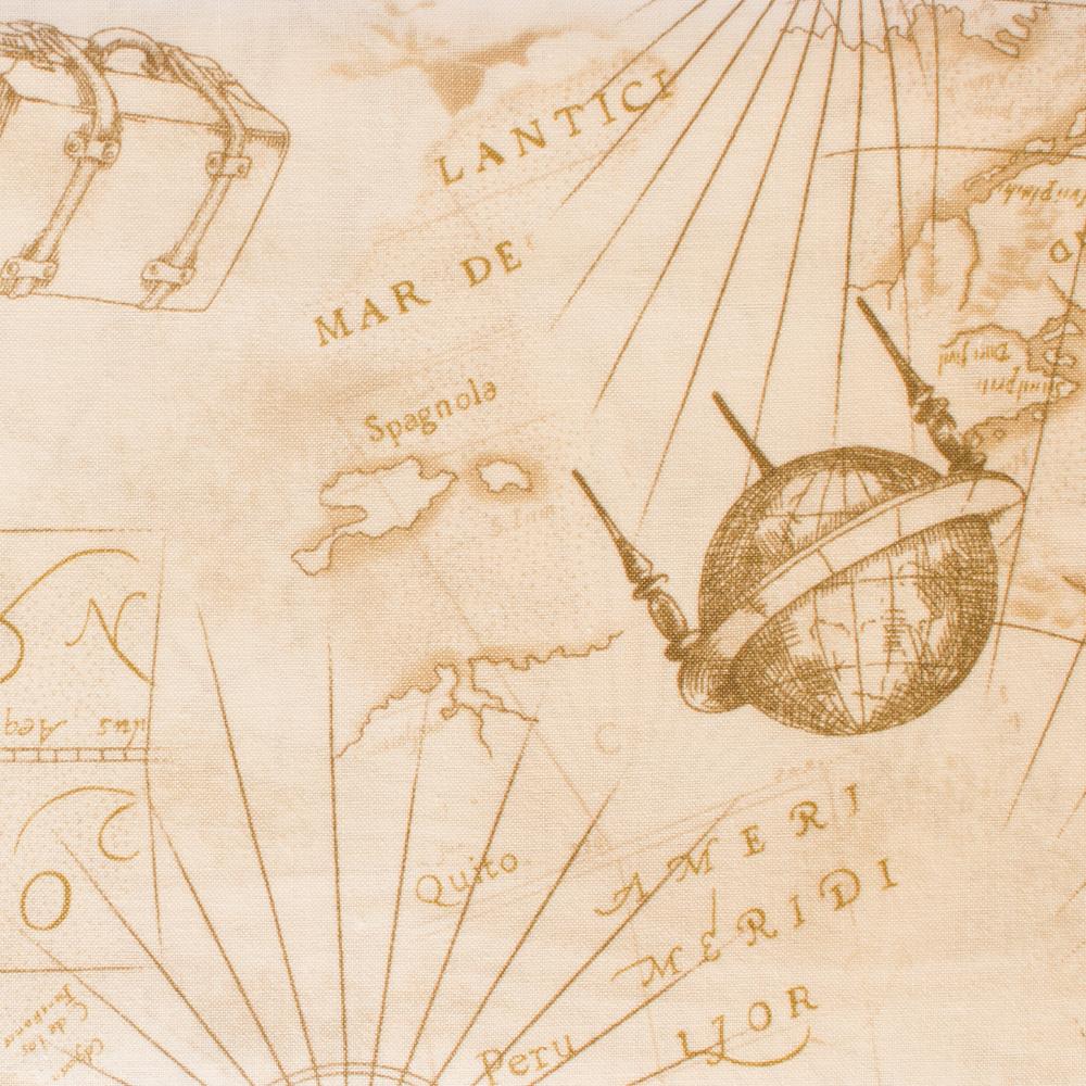 Mrs March Map - Beige 2
