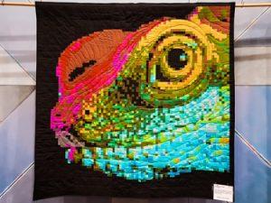 Rainbow Lizard - Julie McAllister