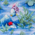 Fish and Rocks - Light Blue 1