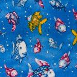 Swimming Fish - Dark Blue