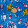 Swimming Fish - Dark Blue with Coin