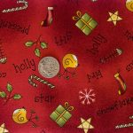 All Things Christmas - Red with coin