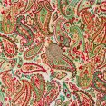 Christmas Paisley - Cream with coin