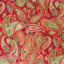 Christmas Paisley - Red