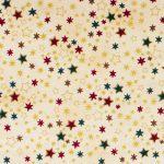 Metallic Stars - Beige