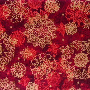 Medallions - Red