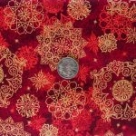 Medallions - Red with coin