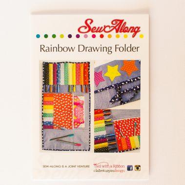 Rainbow Drawing Folder Pattern
