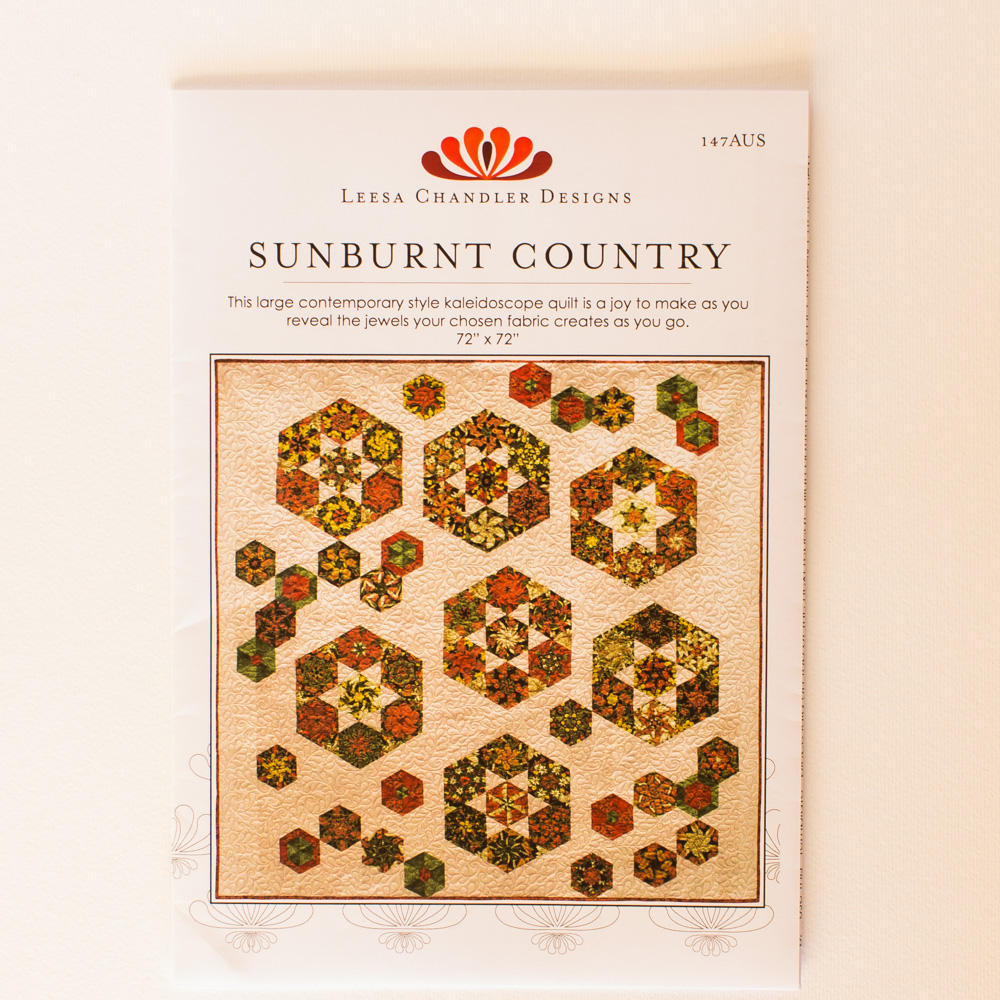 Sunburnt Country Quilt Pattern