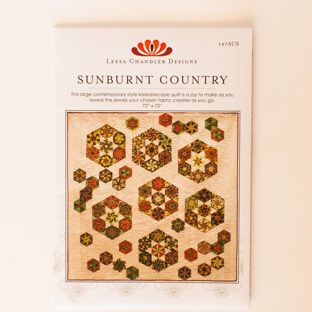 Sunburnt Country Quilt Pattern