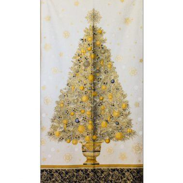 Vintage Xmas Tree Panel
