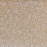 Wrapped in Joy - Snowflakes - Beige