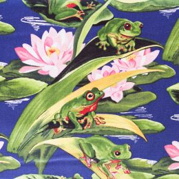 Frogs on Lilypads
