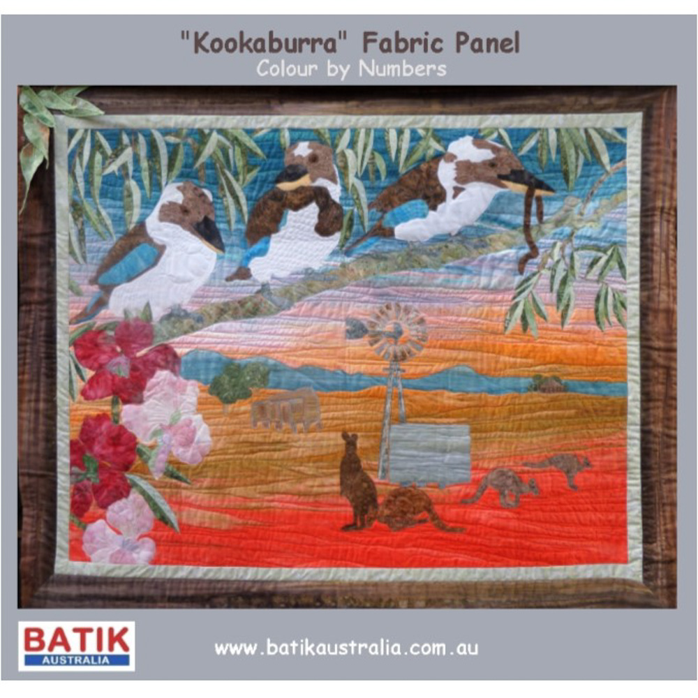 Kookaburra Applique Kit