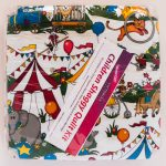 Circus Shaggy Quilt Kit - Front