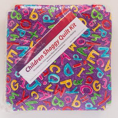 Prep Shaggy Quilt Kit - Front