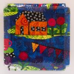 Story Begins Shaggy Quilt Kit - Back