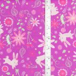 Bunnies on Purple with tape