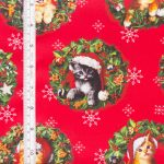 Christmas Pets - Cats with tape