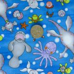 Sea Creatures with coin