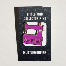 Sew What Pin - Light Purple