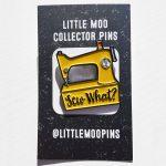 Sew What Pin - Yellow