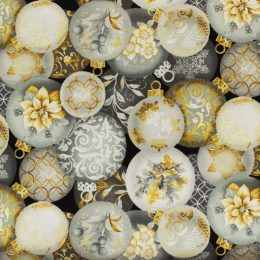Christmas Ornaments - Grey