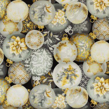 Christmas Ornaments - Grey