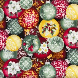 Christmas Ornaments - Red