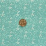 Starfish - Aqua with coin