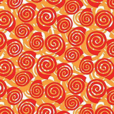 Blooming Roses - Orange
